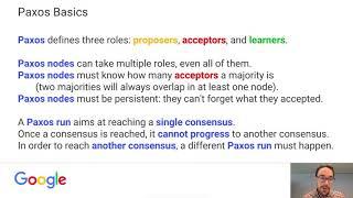 The Paxos Algorithm