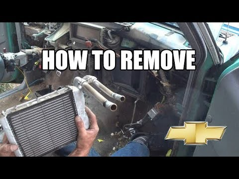 On The Homestead Episode 10   1997 Chevy S10 Dash & Heater Core Removal