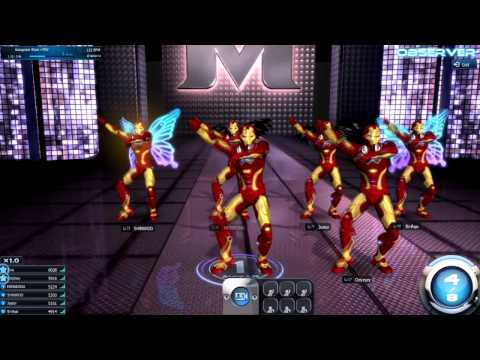 Gangnam style-PSY([HD] Iron man - ExDevinsT Crew)