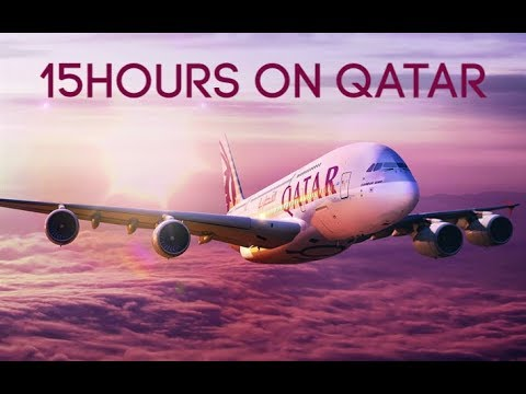 Spending the night with Qatar Airways