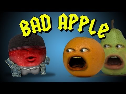 Annoying Orange  Bad Apple Ft Mikey Bolts