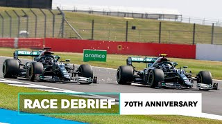 Blistering, Tyre Choices and More   2020 70th Anniversary GP F1 Debrief
