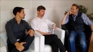 """""""Unsere Bauteile fühlen!"""" - Sensor-Hightech aus Würzburg (GründerTalk m. iNDTact)"""