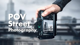 8 Hours of STREET PHOTOGRAPHY in 12 Minutes! (4K POV)