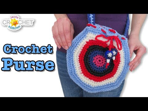 Crochet Purse – Bohemian Fashion!