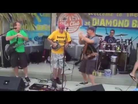 Blackthorn Irish band at the Club at Diamond Beach NJ