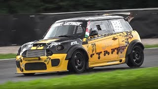 320HP Mini Cooper S R56 by Fast Garage racing on a slippery track + OnBoard!