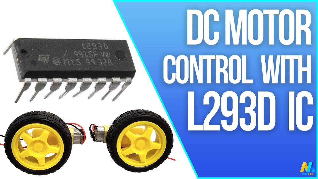 arduino dc motor control with l293d motor driver ic [ 1280 x 720 Pixel ]