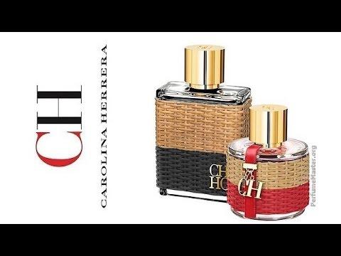 df72ed45e Carolina Herrera - CH Central Park Perfume Collection - YouTube