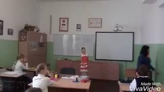 Проведение урока в 5 Б классе, школа N 2 г. Алупка, Республика Крым
