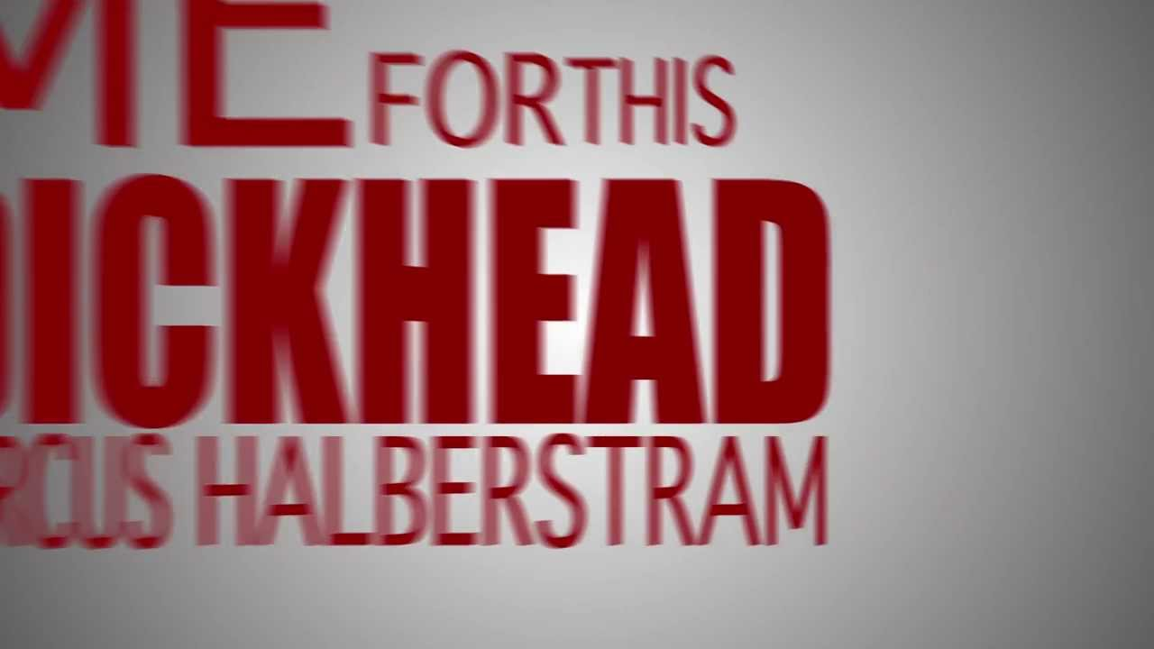 American Psycho - Business Cards - Kinetic Typography - YouTube