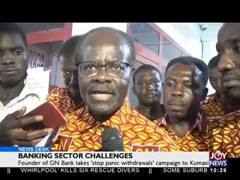 Banking Sector Challenges - News Desk on JoyNews (5-10-18)