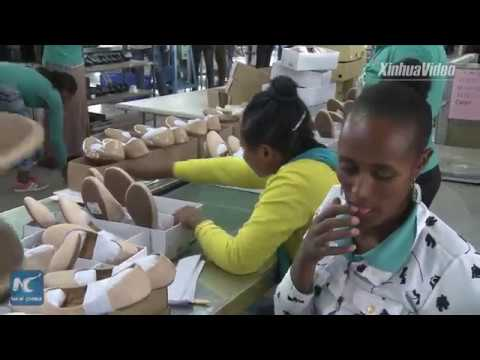 Chinese shoe factory boosts Ethiopia's manufacturing sector