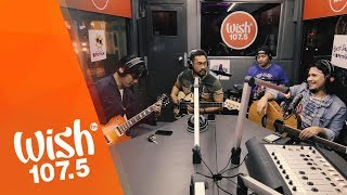 "Sponge Cola performs ""Kailangan Kita"" LIVE on Wish 107.5 Bus"
