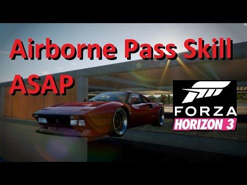 Airborne Pass Skill ASAP Forza Horizon 3 (Airborne Hero)