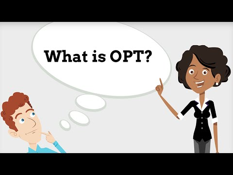 OPT: What is it? Am I Eligible? 1/9