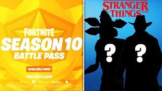 *NEU* Fortnite Stranger Things SKINS LEAKED, Staffel 10 INFO, & MEHR!