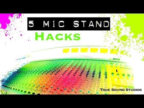 5 Mic Stand Hacks