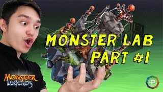 Monster Legends - NEW Monster Lab + Soccer Dungeon Review Reward: Rockball Habitat