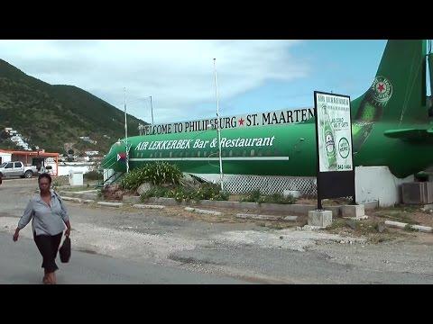 Caribbean Sea '10 - St. Maarten - through Philipsburg outskirts with public transport