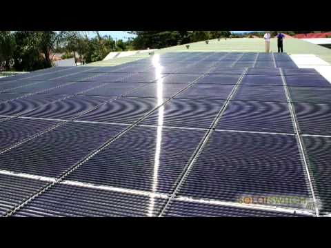 SolarSwitch Install a 20kW Solyndra Solar Panel System