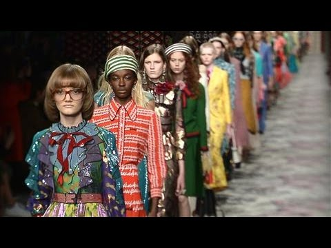 Gucci Sets Off Frenzy in Milan