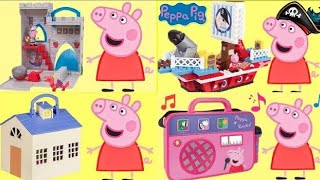 Nick Junior PEPPA PIG Play Sets Collection, P...