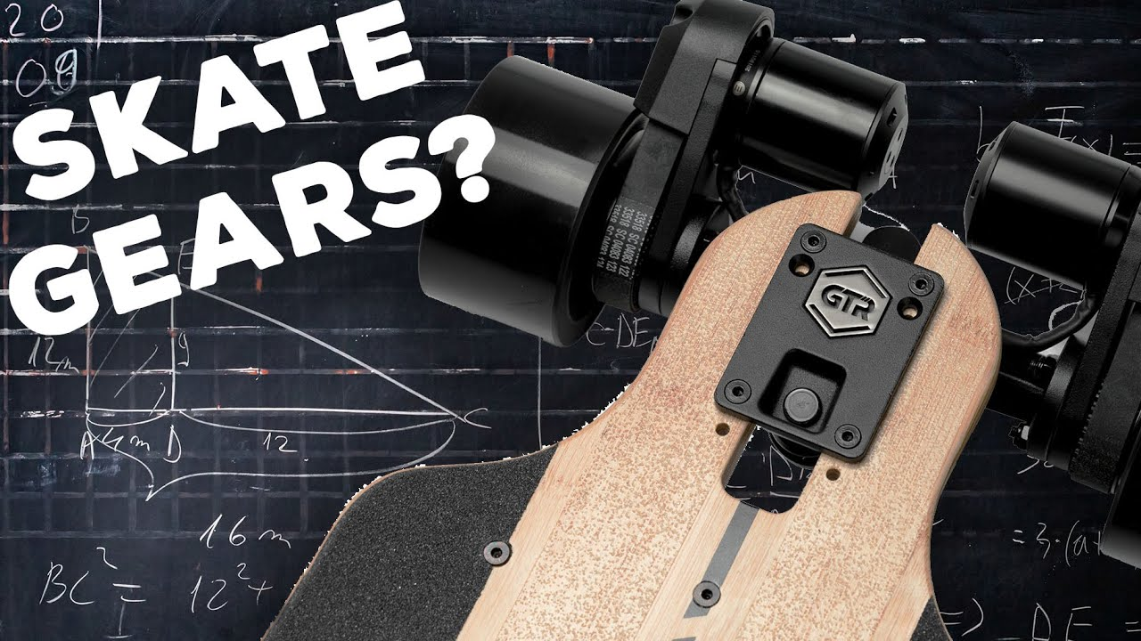 GEARS ON A SKATEBOARD?! [EXPLAINED]