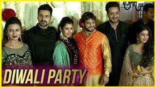 Divyanka Tripathi, Vivek Dahiya, Karan Patel, Ankita Bhargava At Ekta Kapoor's Diwali Bash
