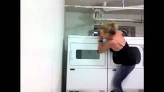 Hides in dryer prank Thumbnail