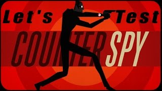 Let's Test COUNTERSPY | Stealth-Action-Game (DEUTSCH) | Let's Play Ps4 Indie Games