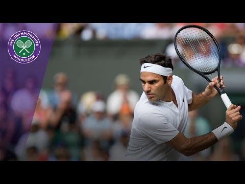 Wimbledon 2017 - Roger Federer completes straight-sets win over Zverev