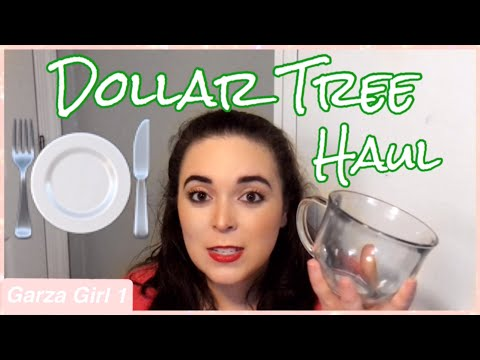 💵🌲Dollar Tree Haul 💵🌲| Dishware Haul- Laura Garza