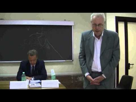 """""""Minoranze linguistiche italiane nella ex Jugoslavia"""" intervento del Prof. Franco Crevatin 1^ pt"""
