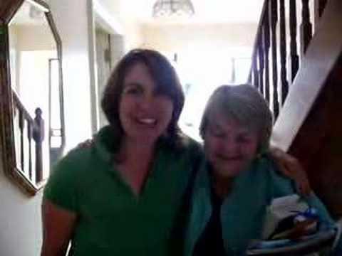 Sue and Breda in Kilkenny
