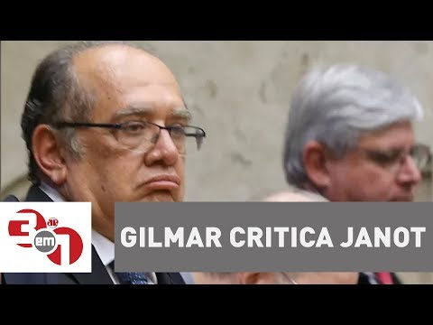 Ministro Do STF Gilmar Mendes Critica O Procurador-geral Da República Rodrigo Janot