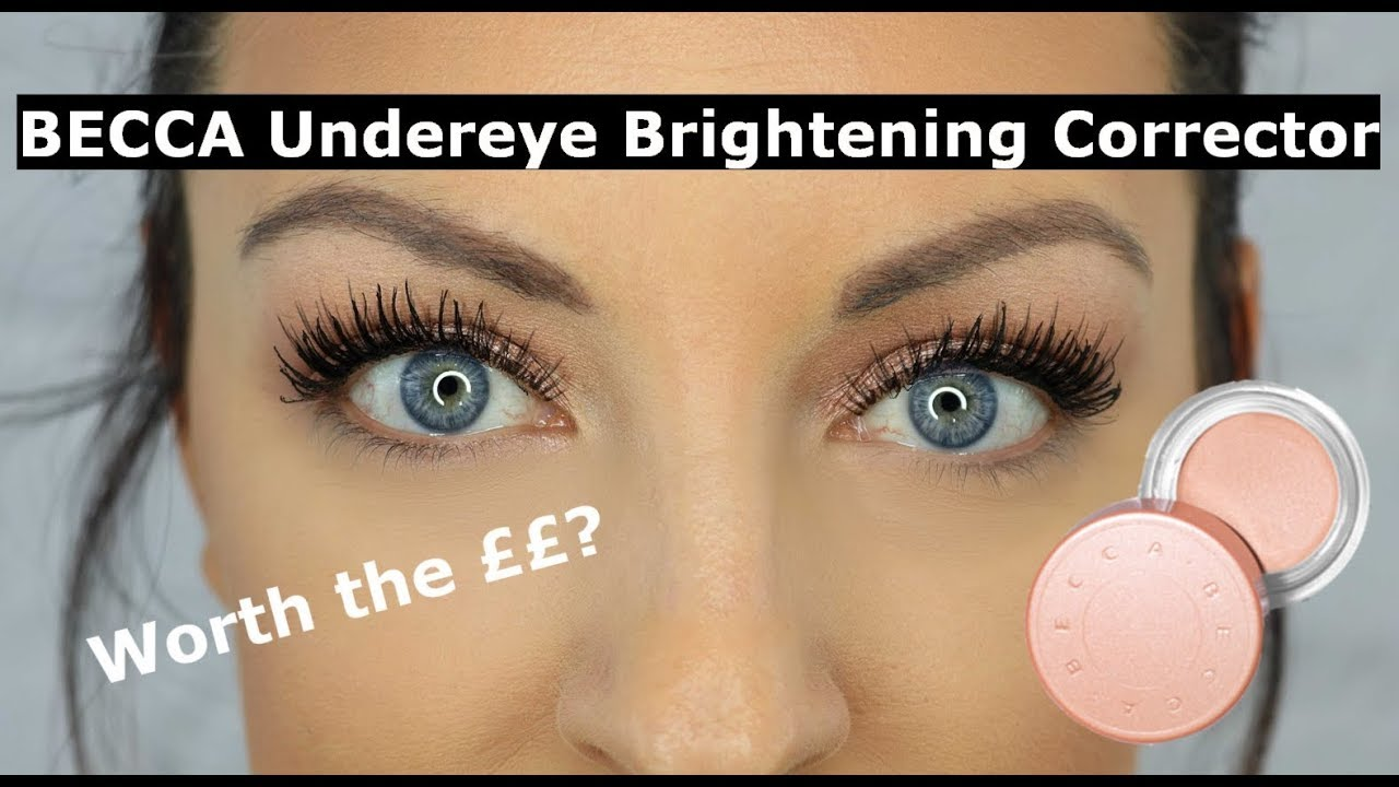 Becca Undereye Brightening Corrector Review And Demo Youtube