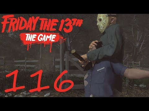 [116] Part 4 Jason DLC! (Friday The 13th The Game)