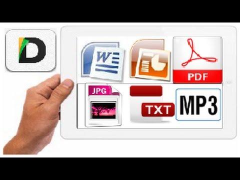 Documents откроет любой файл/архив на IPad/iPhone!