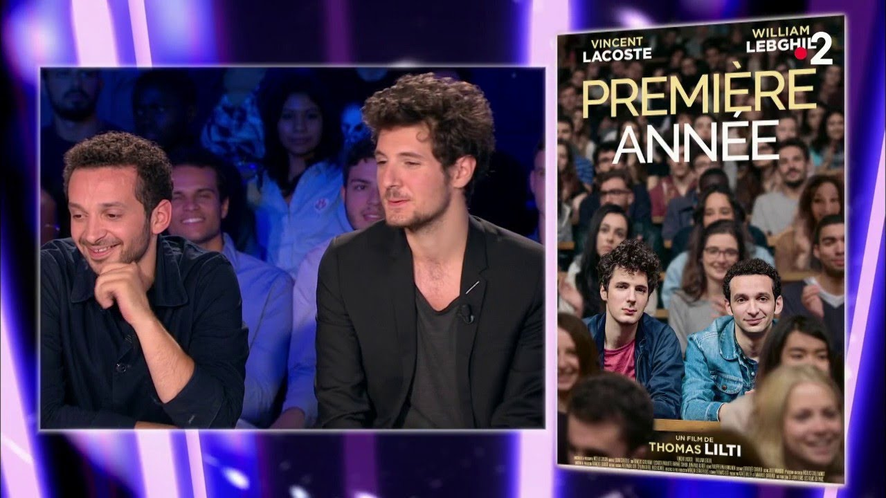Vincent Lacoste & William Lebghil - On n'est pas couché 1er septembre 2018 #ONPC