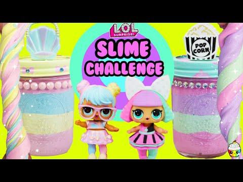 SLIME Challenge LOL Bon Bon VS Pranksta Best Looking Slime & Slime Jar