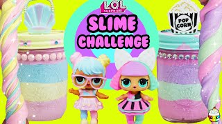 SLIME Challenge LOL Bon Bon VS Pranksta Best Looking Slime & Slime Jar