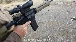 55 grain 556x45 velocity tests