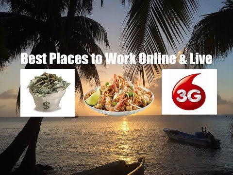 Best Places to Work Online & Live in 2015 Ft. Nomadic Samuel