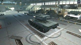 World Of Tanks Blitz Game Play (AMX 50 B) v4.6.0