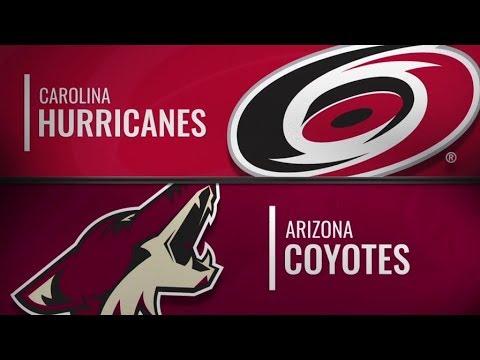 Hurricanes vs Coyotes   Nov 2,  2018
