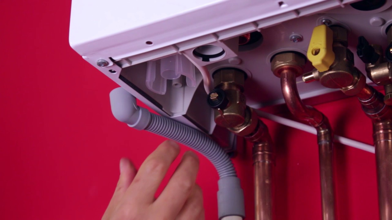 Heat exchanger cleaning for Glow-worm boilers - YouTube