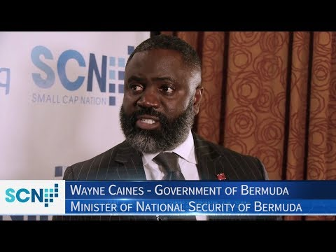 Wayne Caines | Minister of National Security of Bermuda | Fintech World's Blue Chip ICO Road Show