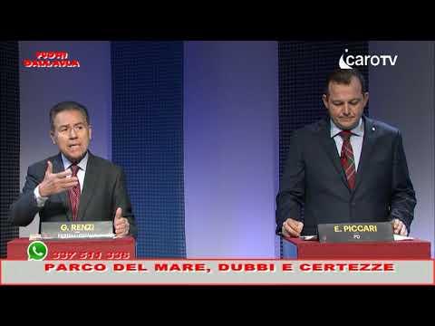 Parco del Mare, più dubbi o certezze? Faccia a faccia tra Renzi (FdI) e Piccari (Pd)