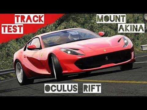 TRACK TEST Akina #6 - Ferrari 812 Superfast - Time Attack | Assetto Corsa VR Gameplay [Oculus Rift]